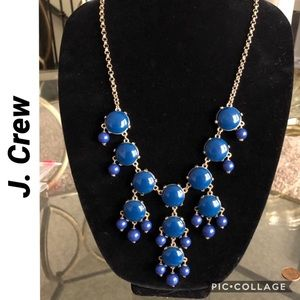 Moody Blues Statement Necklace